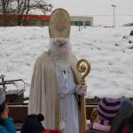 Der Nikolaus kommt ins Feldbahnmuseum