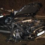 Bilder zum traurigen Unfall auf der A 6