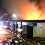 Bad Schönborn: Schon wieder Lagerhallenbrand