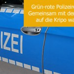 Grün-rote Polizeireform