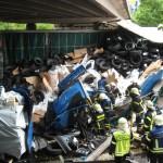 Unfall A5 bei Kronau – Feuerwehr Walldorf im Einsatz