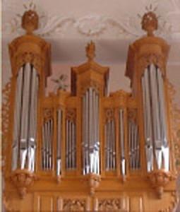 Orgel der Laurentius Kirche, Wiesloch
