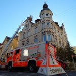 Feuerwehr Walldorf bei Überlandhilfe in Reutlingen