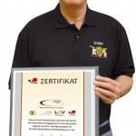 KVBW Auszeichnung für TSG Wiesloch Karate Abteilung