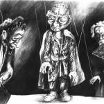 """""""Am Rande von Bethlehem"""" im Marionetten Theater, Wiesloch"""