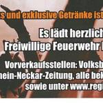 Vorverkauf: Tribute Night der Feuerwehr Meckesheim