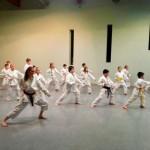 Weihnachtsfeier bei den TSG Karate Kids