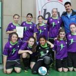 VfB Wiesloch: D-Juniorinnen mit vielen Chancen, Platz V.
