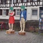 Ursula und Franz haben das Rathaus fest im Blick