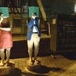 """Skulpturengruppe """"Aufgemacht"""" offiziell eingeweiht"""