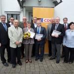 CDU Wiesloch startet mit Ehrung langjähriger Mitglieder in den Kommunal-Wahlkampf