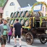Impressionen vom Dachsenfranz-Fest in Zuzenhausen …
