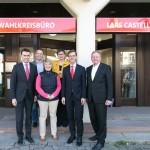 Präsidium der Landes-SPD im neuen Büro von Lars Castellucci