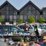 Heute Flohmarkt auf dem Festplatz in Wiesloch ab 07 Uhr