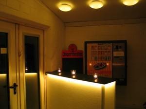 Rock&Pop Verein Eingangsbereich
