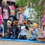 Maibaum aufstellen – seit Jahren eine der Traditionen in Balzfeld …