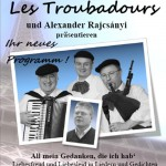 Heute: Les Troubadours & Alexander Rajcsányi spielen für Agape