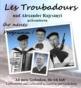Les Troubadours StadtBü-Plakat-Bild
