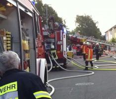 Dachgeschoss – Brand in Neulußheim