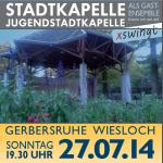Heute: Serenade der Stadtkapelle Wiesloch im Gerbersruh Park