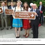 Badische Weinstraße geht jetzt bis Hessen