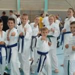 TSG Karate Team wird gefeiert