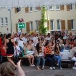 Erste Bilder: Stadtfest Eröffnung 2014 und Viewing auf dem Marktplatz