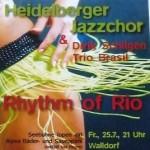 Heute: Heidelberger Jazzchor auf der Seebühne