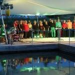 Heidelberger Jazzchor und Trio Brasil auf der Seebühne