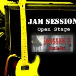 Bei Uwe Janssen live on stage ab 31. Juli