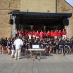 Start des Chorfestes zum 125. Jubiläum des Liederkranzes Rauenberg