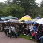 Heute in Schatthausen Familiengottesdienst im Grünen (Oberhof)