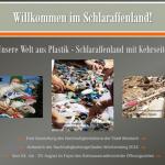 Nachhaltigkeit-Ausstellung:  Unsere Welt aus Plastik