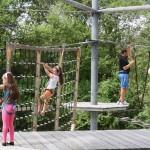 Der Hochseilgarten in Wiesloch – kribbliger Spass für die ganze Familie