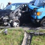 Unfall auf der Umgehungsstraße Angelbachtal – Mühlhausen Abzweig Tairnbach