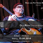Olli Roth in der Acoustic-Lounge des Rock-& Popverein, Wiesloch