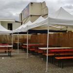 noch 3 Tage: Winzerfest vor der Eröffnung – noch viel zu tun