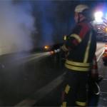 Grund für LKW-Brand war Übererhitzung der Bremsen
