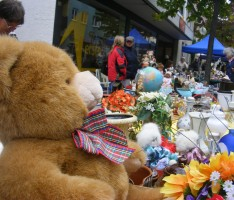 Flohmarkt auf dem Festplatz Am Samstag, 07. April…