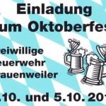 Oktoberfest der Feuerwehr Frauenweiler
