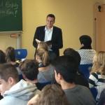 Dr. Kai Schmidt-Eisenlohr liest beim Vorlesetag