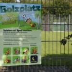 Ausgespielt! Bolzplatz Nußlocher Straße gesperrt – Regeln auf Bolzplätzen beachten