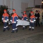 Kerwe-Schlumpel auch in Balzfeld eingeäschert