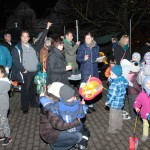 Lichterfest im Kiga Villa Kunterbunt Balzfeld