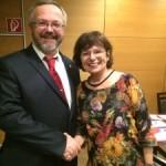 Landtagswahlkreis Schwetzingen: Rosa Grünstein kandidiert 2016 nicht mehr
