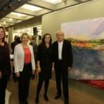 """Ausstellung """"Scarlet Lake"""" von Maria Sainz Rueda bei """"Kunst im Rathaus"""""""