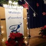 Adventsfeier des Walldorfer Frauenbundes