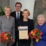 Auszeichnung für Margot Loeser und Sigrid Tuengerthal