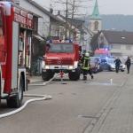 Feueralarm in Dielheim-Kriegsstraße