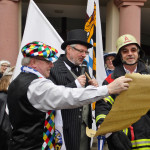 Heute Rathauserstürmung in Wiesloch